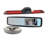 Rearview Mirror/Monitor Backup Camera System